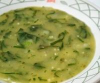 Caldo de Mandioca com Couve (vegana)